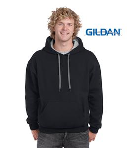 GildanHeavyBlendAdultContrasthoodedsweatshirt