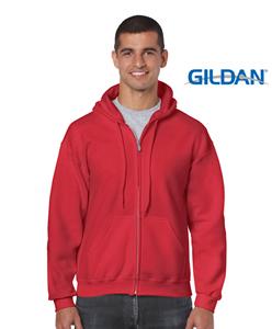 GildanHeavyBlendAdultFullziphoodedsweatshirt