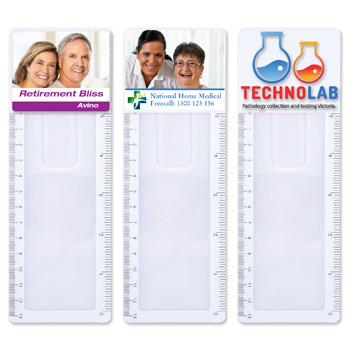 ClearBookmarkMagnifierRuler