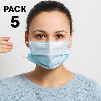 5-Pack-Disposable-Face-Masks