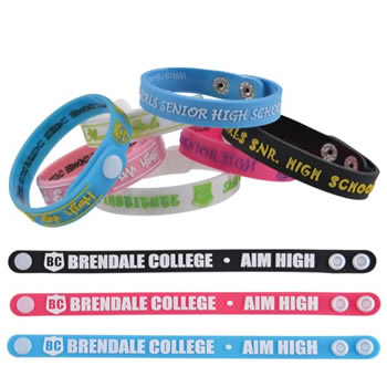 Adjustable12mmPVCWristBand